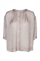 And Less - Skjorte - Dorothea Shirt - Wet Weather