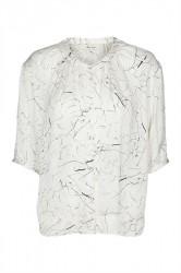 And Less - Skjorte - Dorothea Shirt - Whisper White