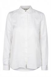 And Less - Skjorte - Lulea Shirt - White Alyssum