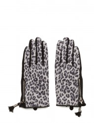 Animal Suede Glove