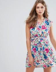 Anmol Floral Print Dress - Blue