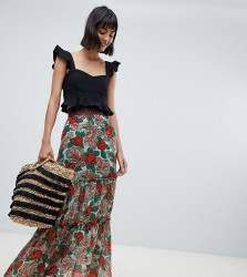 Anna Sui Exclusive Mexicana Midaxi Skirt - Multi