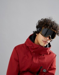 Anon Helix 2.0 Snow Goggles with Spare Lens - Brown