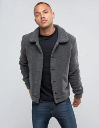 Another Influence Borg Jacket - Grey