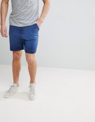 Another Influence Burn Out Jersey Shorts - Blue