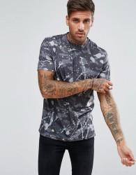 Another Influence Camo Graffiti T-Shirt - Green