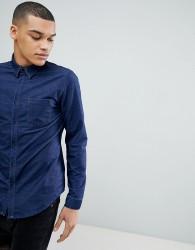 Another Influence Long Sleeve Denim Shirt - Purple