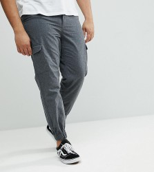 Another Influence PLUS Cargo Trousers - Grey