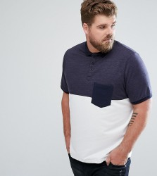 Another Influence PLUS Cut and Sew Pocket Polo - Navy