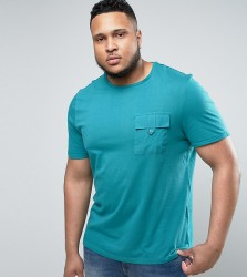 Another Influence PLUS Utility Pocket T-Shirt - Green