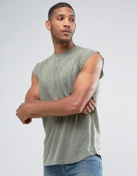 Another Influence Sleeveless T-Shirt - Green