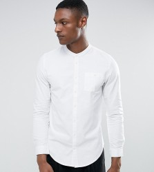 Another Influence TALL Grandad Shirt - White