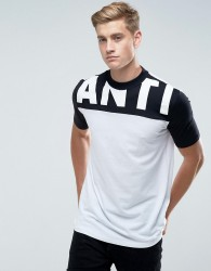 Antioch Anti Block Panel T-Shirt - White