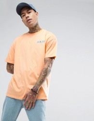 Antioch A.N.T.I. Print T-Shirt - Orange