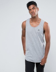 Antioch Oversized Racer Back Vest - Grey