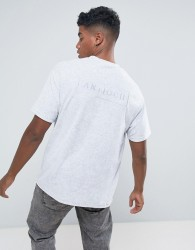 Antioch Oversized Towelling T-Shirt - Grey