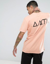Antioch Pocket T-Shirt with Back Print - Pink