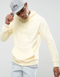 Antioch Towelling Hoodie - Yellow