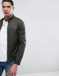 Antony Morato Harrington Jacket In Khaki With Pockets - Green