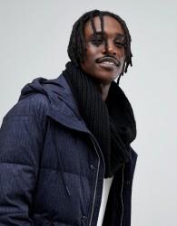 Antony Morato Knitted Snood In Black - Black