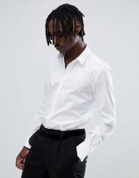 Antony Morato long sleeve smart shirt in white - White