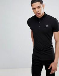 Antony Morato Polo Shirt In Black - White