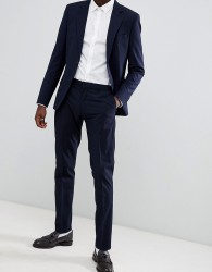 Antony Morato Slim Fit Suit Trouser In Navy - Navy