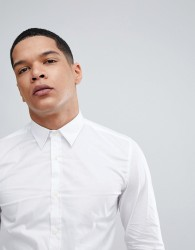 Antony Morato Stretch Shirt In White - White