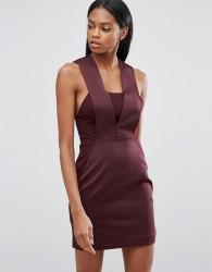 AQ/AQ Bodycon Mini Dress - Purple