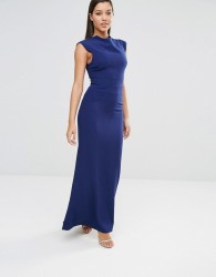 AQ/AQ Vapid Maxi Dress - Navy