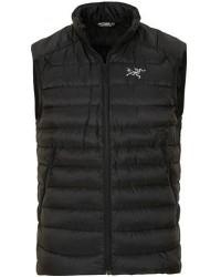 Arc'teryx Cerium LT Quilted Down Vest Black men XL Sort