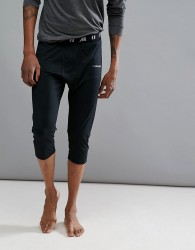 Armada Contra 3/4 Length Baselayer Trousers in Black - Black