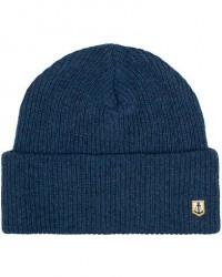 Armor-lux Lambswool Beanie Ink men One size Blå