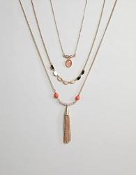 Ashiana Pendant Necklace - Gold