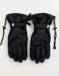 ASOS 4505 ski gloves in black - Black