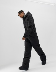 ASOS 4505 ski suit in black - Black