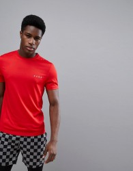 ASOS 4505 T-Shirt With Quick Dry In Red - Red