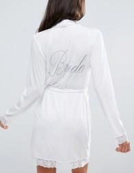 ASOS BRIDAL Bride Robe - White