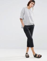 ASOS Capri Pant Trousers - Black