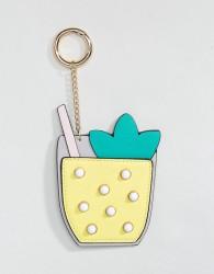 ASOS Cocktail Bag Charm Key Ring - Multi