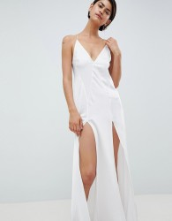 ASOS DESIGN Bridal Maxi Slip - White