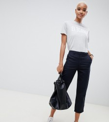 ASOS DESIGN chino trousers in navy - Blue