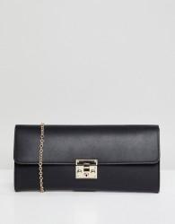 ASOS DESIGN elongated clutch - Black