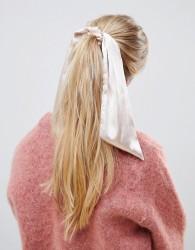 ASOS DESIGN hair scarf in peach - Pink