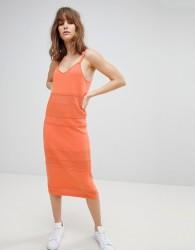 ASOS DESIGN knit cami dress - Orange