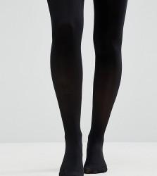 ASOS DESIGN Maternity new improved fit 50 denier tights - Black