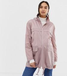 ASOS DESIGN Maternity rain jacket - Pink