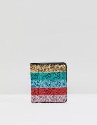 ASOS DESIGN sequin purse - Multi