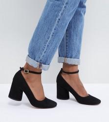 ASOS DESIGN Shortbread Heels - Black