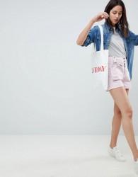 ASOS DESIGN Shorts With Detachable Bum Bag - Pink